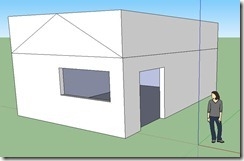 maison sketchup