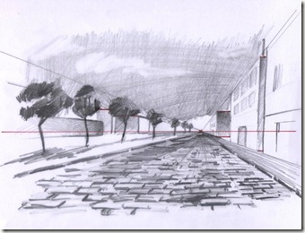 Dessiner une perspective frontale