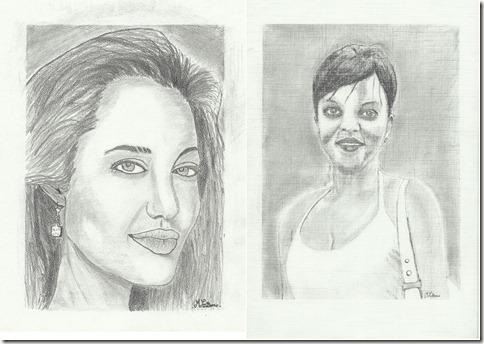 correction portraits marcel