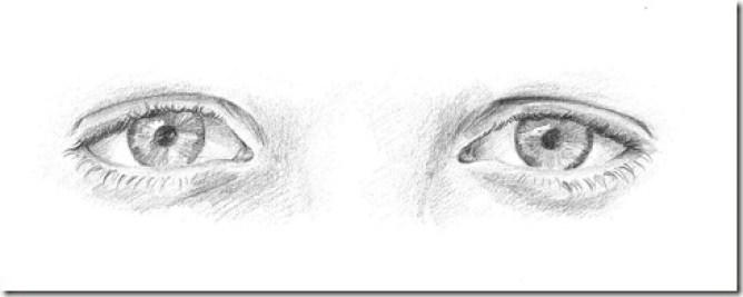 dessin yeux 6