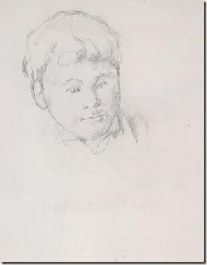 Cézanne-dessin dynamique