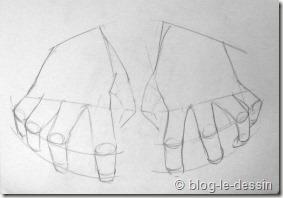 apprendre à dessiner une main