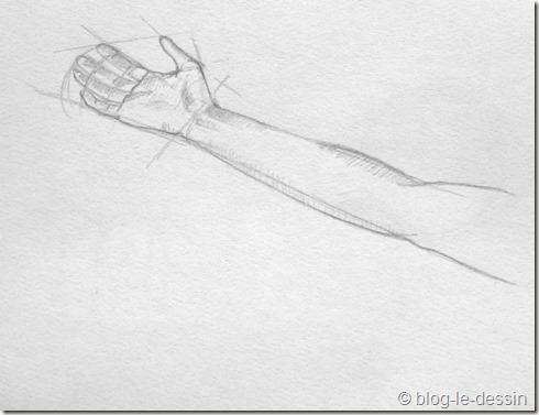 dessiner une main 5