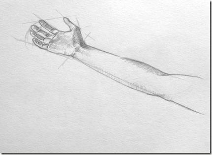 dessiner une main 6