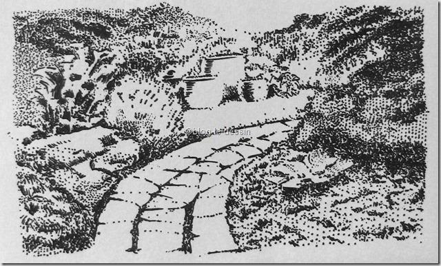 dessin paysage