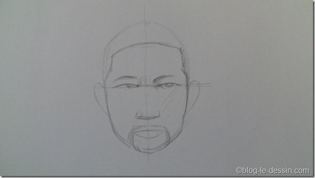dessiner portrait avec surfaces 3