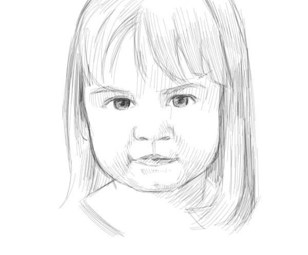 les techniques pour apprendre dessiner les enfants sinon vos portraits seront toujours tranges. Black Bedroom Furniture Sets. Home Design Ideas