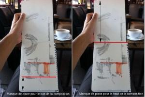 Les deux manière risquées de placer la ligne d'horizon dans son dessin