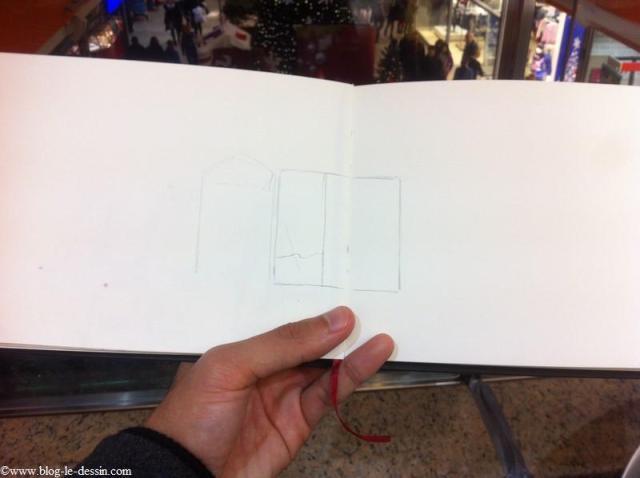 dessiner à l'intérieur du carré de référence