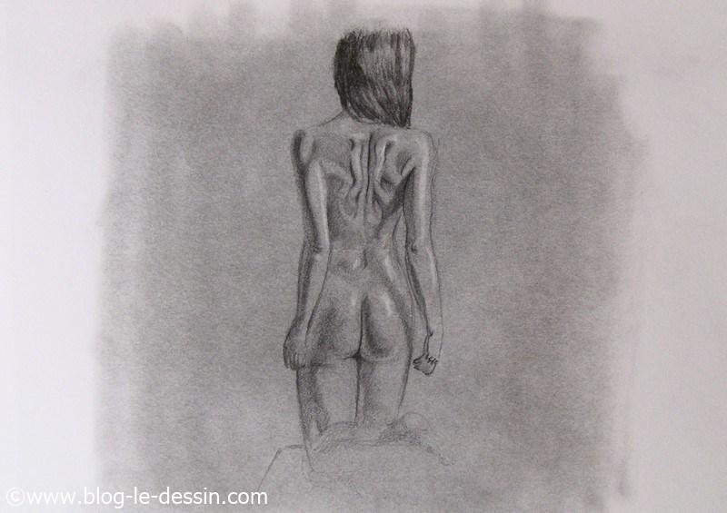 apprendre a dessiner une femme eclairage lateral