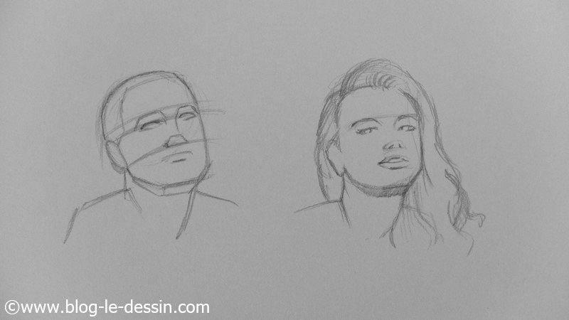 Apprendre dessiner les visages sous plusieurs angles - Modele d oiseaux a dessiner ...