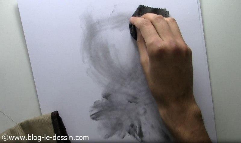 dessin visage fille tutoriel planche ebauche