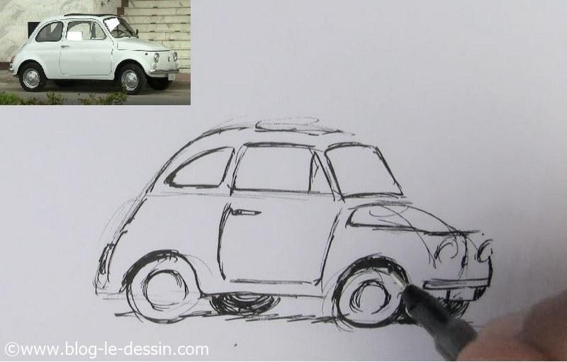 Dessiner une voiture, la méthode facile