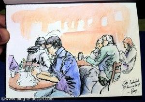 ambiance dessin ajout couleur crayon aquarelle