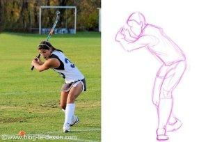 dessiner hachures sportive modele