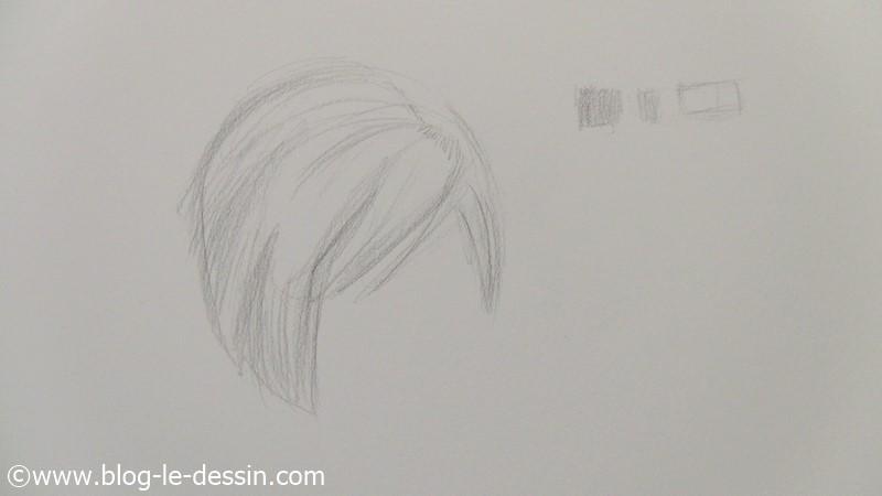 Les cheveux blonds, comment les dessiner et choisir le bon gris pour le contraste des poils
