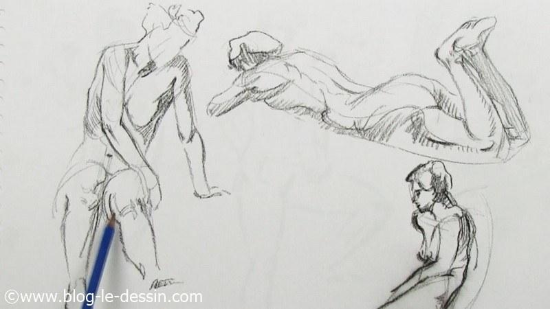 Dessiner les postures du corps sans h siter avec 3 - Dessiner gratuitement ...