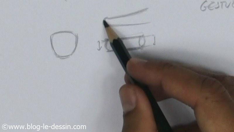 forme géométrique doigt structure