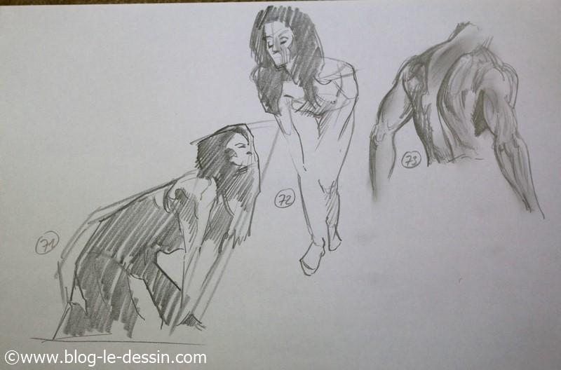images dessins faciles a faire posture mine de plomb
