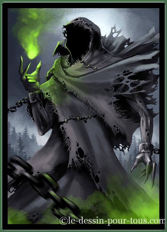 Spectre-fantasy art personnage