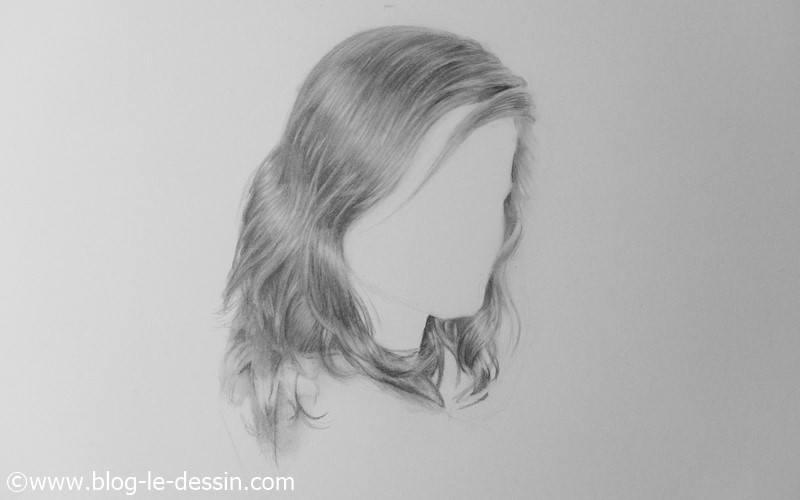 dessiner des cheveux