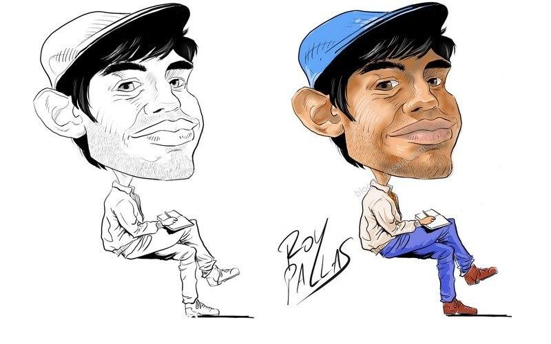 colorisation d'un auto-portrait