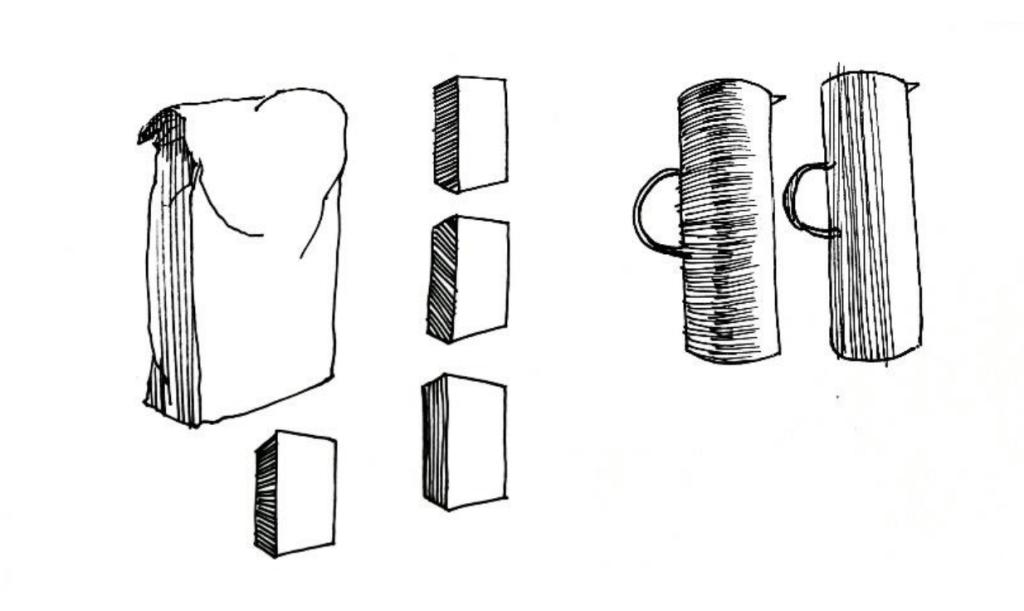 dans quel sens dessiner les hachures ?