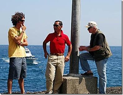 Mark J. Palmer - Lincoln, M. Ishii & Ric O'Barry à Futo