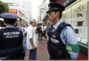 The Cove - Projection au Japon avec la presence des policiers