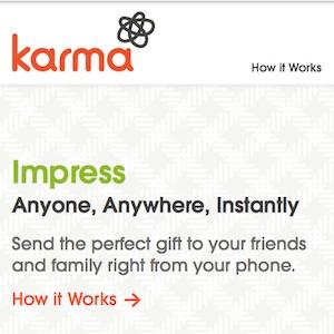 Facebook fait l'acquisition de Karma, un service de don social et mobile