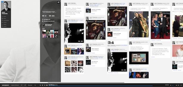 Un tout nouveau Myspace : un premier regard sur l'énorme refonte de la plateforme - Recherche accessible partout sur la plateforme