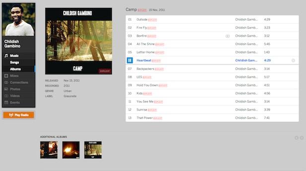 Un tout nouveau Myspace : un premier regard sur l'énorme refonte de la plateforme - Profil utilisateur également remanié