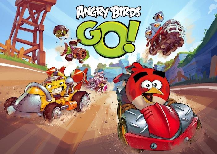 Angry Birds Go : Rovio dévoile le premier trailer du gameplay de son nouveau jeu de course de kart