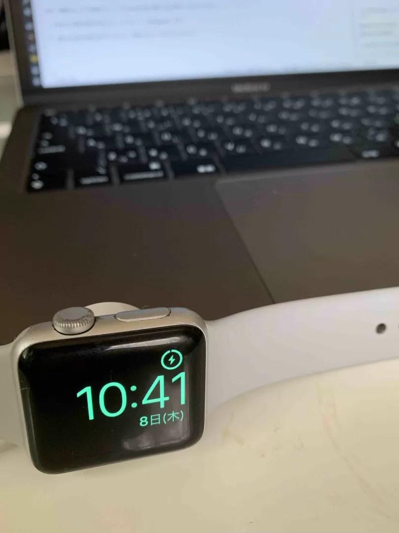Apple Watch series3 GPSモデルの写真