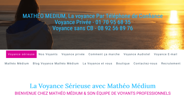 Mathéo Médium   Voyance intuitive par téléphone   Annuaire Voyance de8e13dc173d