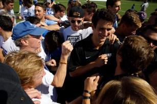 2017 September 23: Duke Blue Devils men's lacrosse alumni game and weekend.