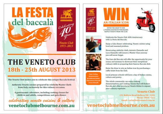VenetoClub_Festa Del Baccala_2