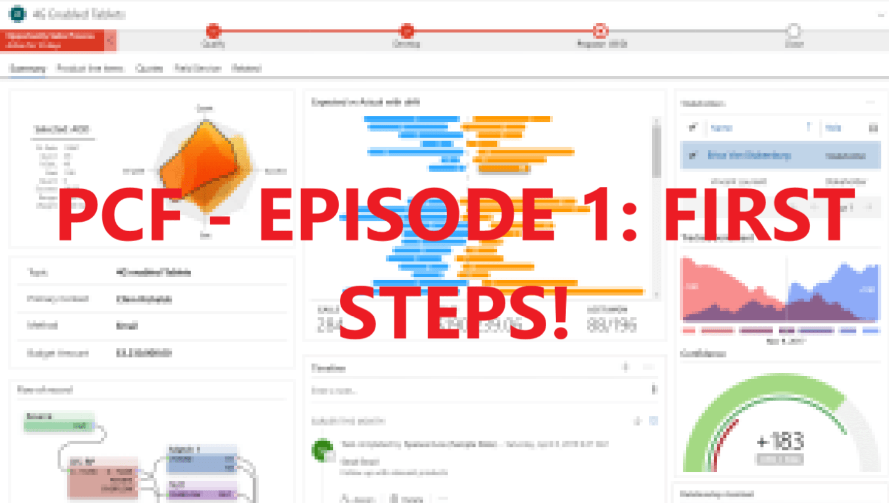 PCF – EPISODE 1 : First Steps!