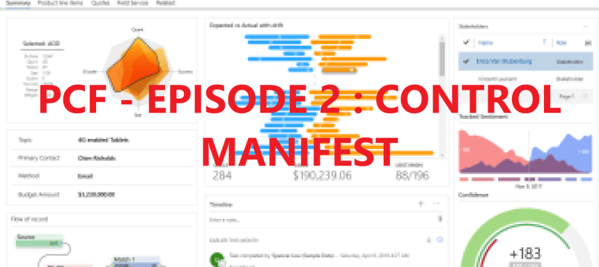 Deep dive into Power Apps Component Framework – Part 2 : Focus on … Control Manifest file!