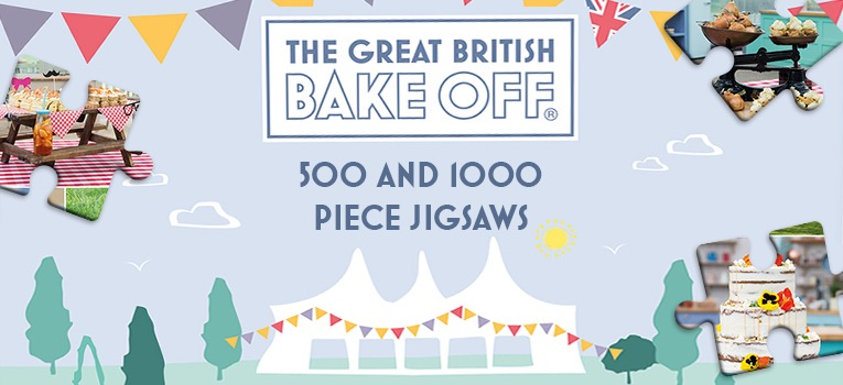 Great British Bake Off Jigsaw puzzle 1000 piece
