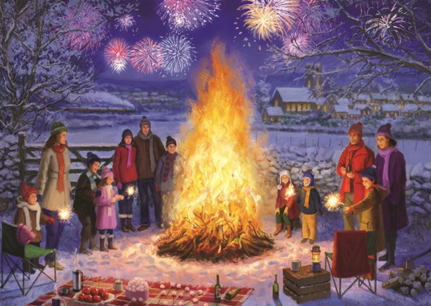 Bonfire Night Jumbo Jigsaw Puzzle