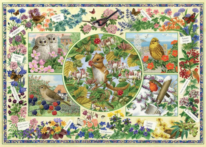 Country Garden Jumbo Jigsaw Puzzle