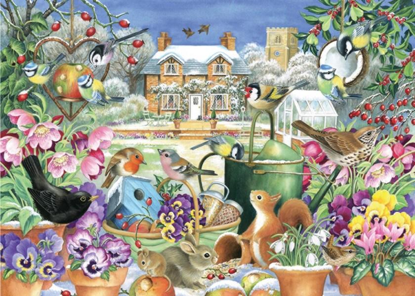 Winter Garden - Jumbo Jigsaw puzzle