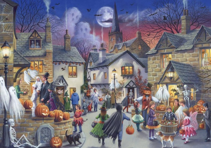 Halloween Jigsaw Puzzle - Falcon Nostalgia Collection