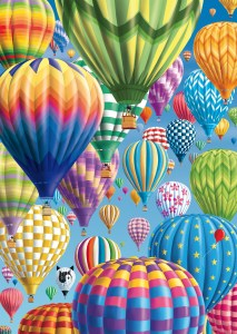 Colourful Balloons 1000 Piece Jigsaw Puzzle