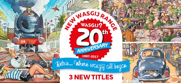 Wasgij 20th Anniversary Jigsaw puzzles