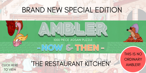 Brand New Ambler Jigsaw Puzzle – 'Now and Then'