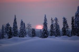 Sunset_in_Kainuu,_Finland