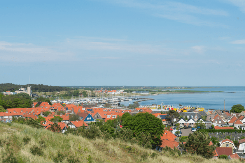 Landscape with village West-Terschelling