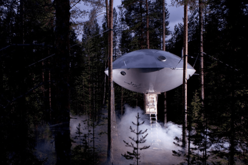 courtesy of http://www.treehotel.se/en/rooms/the-ufo